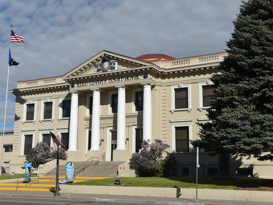 Elko County Courthouse seen in May 2017.