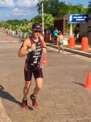 Jeff Fejfar qualified for the 2017 Ironman World Championships.