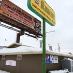 The Green Bay Packers acquired the land that is home to The Blind Ref restaurant earlier this month. The small piece of land were the large billboard is located is one of two the team does not own between South Ridge Road and Marlee Lane. The other is the Road Star Inn property.