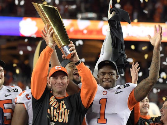 NCAA Football: College Football Playoff National Championship-Clemson vs Alabama