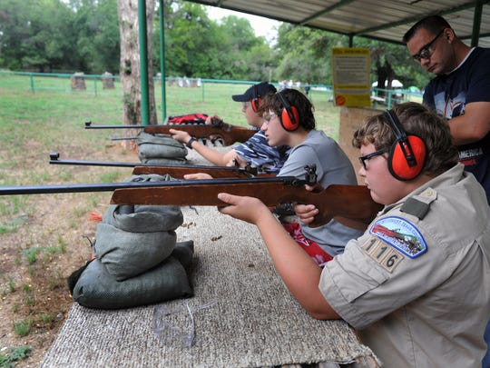 Shooting sports have long been included in the program at the Camp Perkins Boy Scout center, but facilities and equipment have been lacking in several areas required for merit badges. Northwest Texas Council officials are using the proceeds from the annual BSA Sporting Clay Classic to pay for steady improvements to the camp, including facilities for sporting clays and upgrades to the camp dining hall.