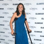 Two-time beach volleyball gold medalist Misty May-Treanor tore her Achilles tendon during rehearsal in season 7.