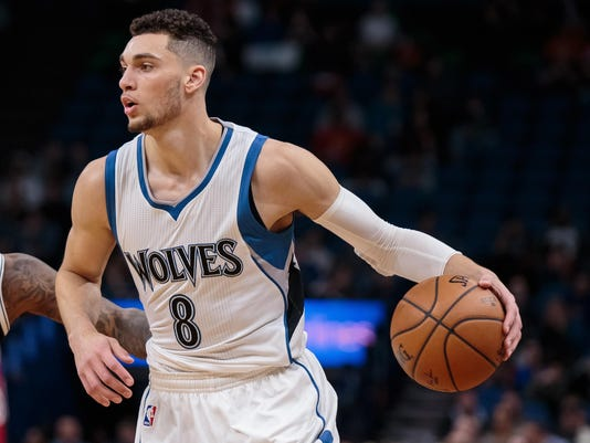 NBA: Brooklyn Nets at Minnesota Timberwolves