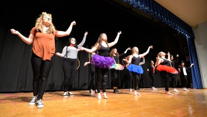 The Junior Class of 2017 presents Circus at the annual Cedar Grove High School Lip Sync Contest, Friday night. Jan. 8, 2016.
