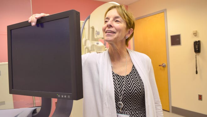 Dr. Jan Huston is pictured at Mountainside Medical Center last year, where she led a study on the Breathlink test that can help detect breast cancer and avoid false positives, improving the accuracy of current methods.
