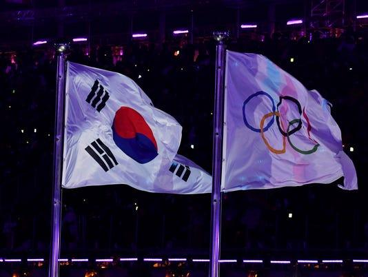 USP OLYMPICS: OPENING CEREMONY S OLY KOR