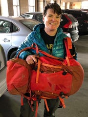 Jen Loeb was the first Iowa woman to scale Mount Everest,