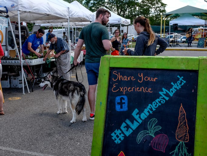 The East Lansing Farmers Market is open on Sundays