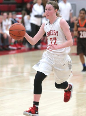 Shelby's Emma Randall is expected to make a huge impact for the Lady Whippets this season.