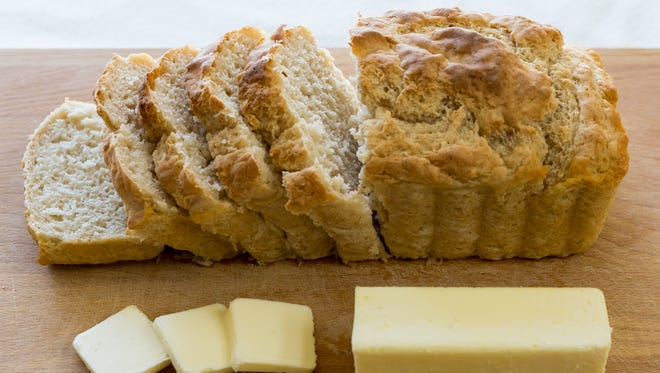 Use whatever beer you love in this beer-laced bread recipe.