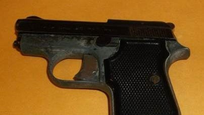 New Castle County Police say they seized this gun from a 16-year-old.