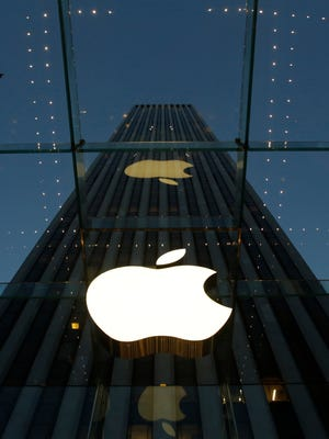 The tech giant's Fifth Avenue store in New York City.