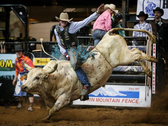 San Angelo Stock Show & Rodeo: 10th performance, Feb. 16, 2017