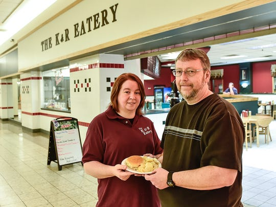 Ruth and Kevin Snare own The K & R Eatery located in