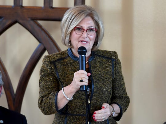 Congressman Diane Black participated in the 2018 South West Tennessee Development District's Legislative Luncheon, Wednesday, Jan. 3.