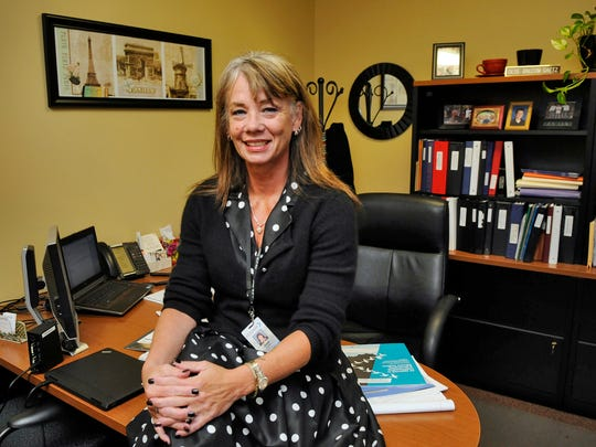 Dede Balcom Gaetz, human resource director for the city of St. Cloud, in her office Wednesday