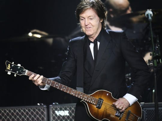 Paul McCartney, 2013 at Bankers Life Fieldhouse.