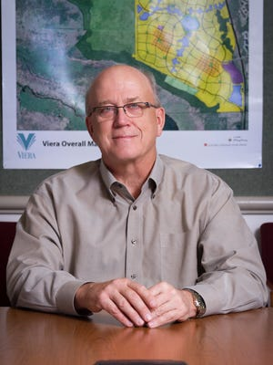 Steve Johnson soon will be retiring from The Viera Co. in August