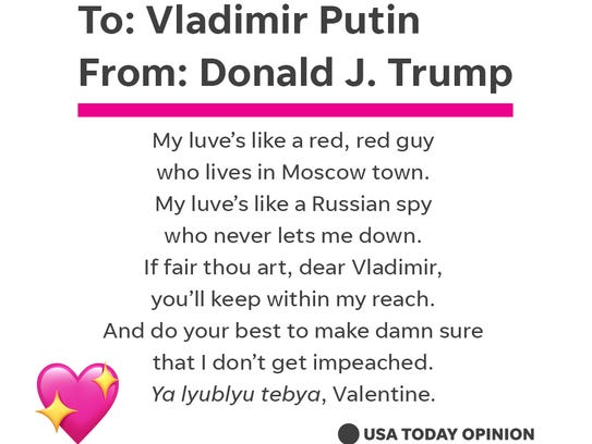 One to the Russian president