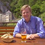 Rick Steves, travel writer and television producer, near Predjana Castle in Slovenia.