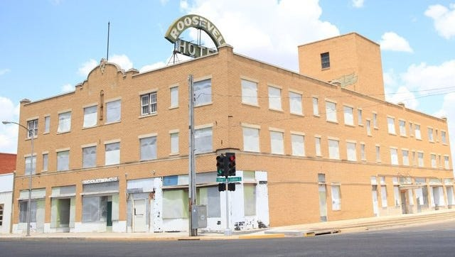 The historic Roosevelt Hotel in downtown San Angelo.