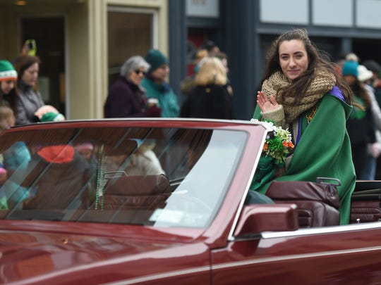 The 51st annual St. Patrick's Day Parade in downtown