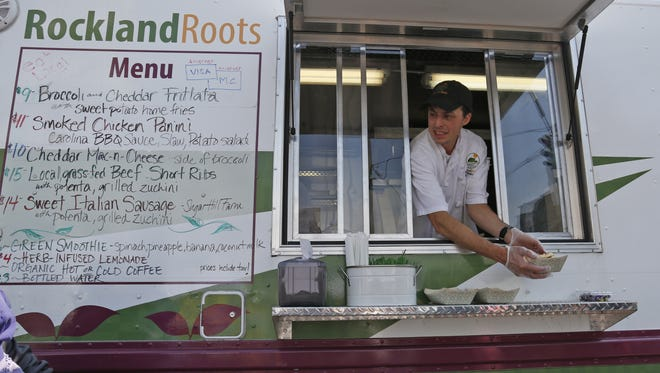 Rockland Roots food truck owner Brian Holbach.