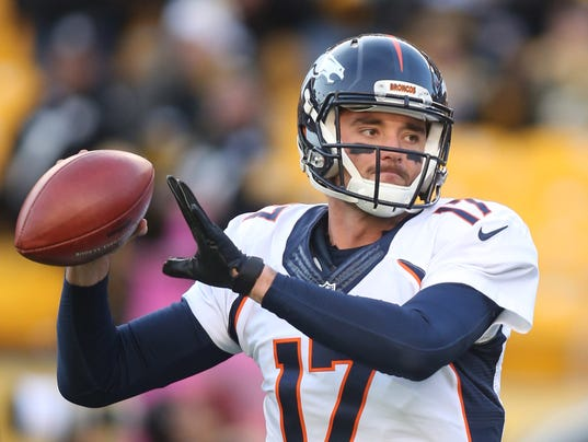 USP NFL: DENVER BRONCOS AT PITTSBURGH STEELERS S FBN USA PA