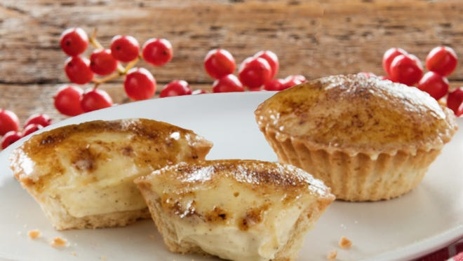 Customers can get a free mini gingerbread creme brulee Dec. 9 for National Pastry Day.