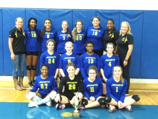 Northampton volleyball Conference 41 Championship