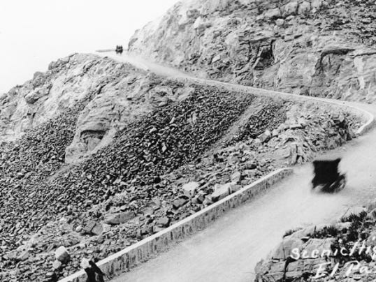 Scenic Drive opened in October 1920.
