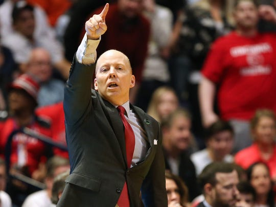 Coach Mick Cronin and the Cincinnati Bearcats basketball