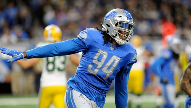 Ziggy Ansah will be a free agent this offseason. He has 44 sacks in five seasons (73 games) with the Lions. He will be 29 in May.