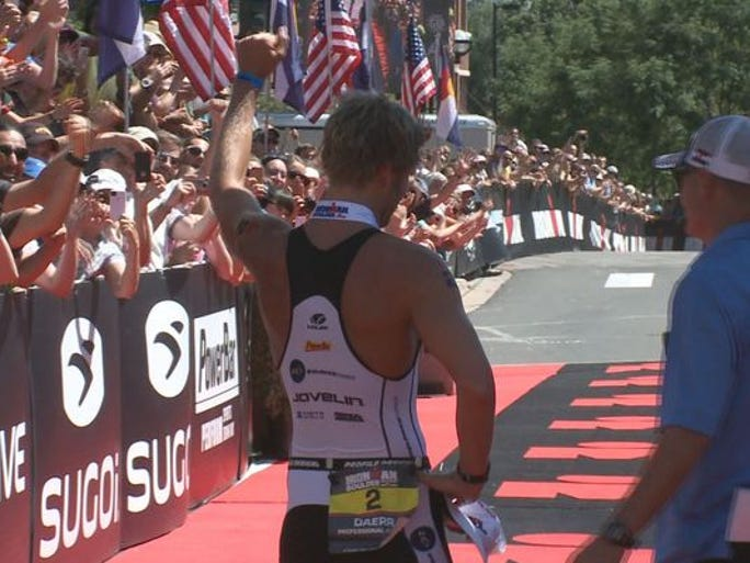 The inaugural Ironman Boulder included a 2.4 mile swim at Boulder Reservoir, a 112-mile bike ride through four counties and a 26.2 mile run.