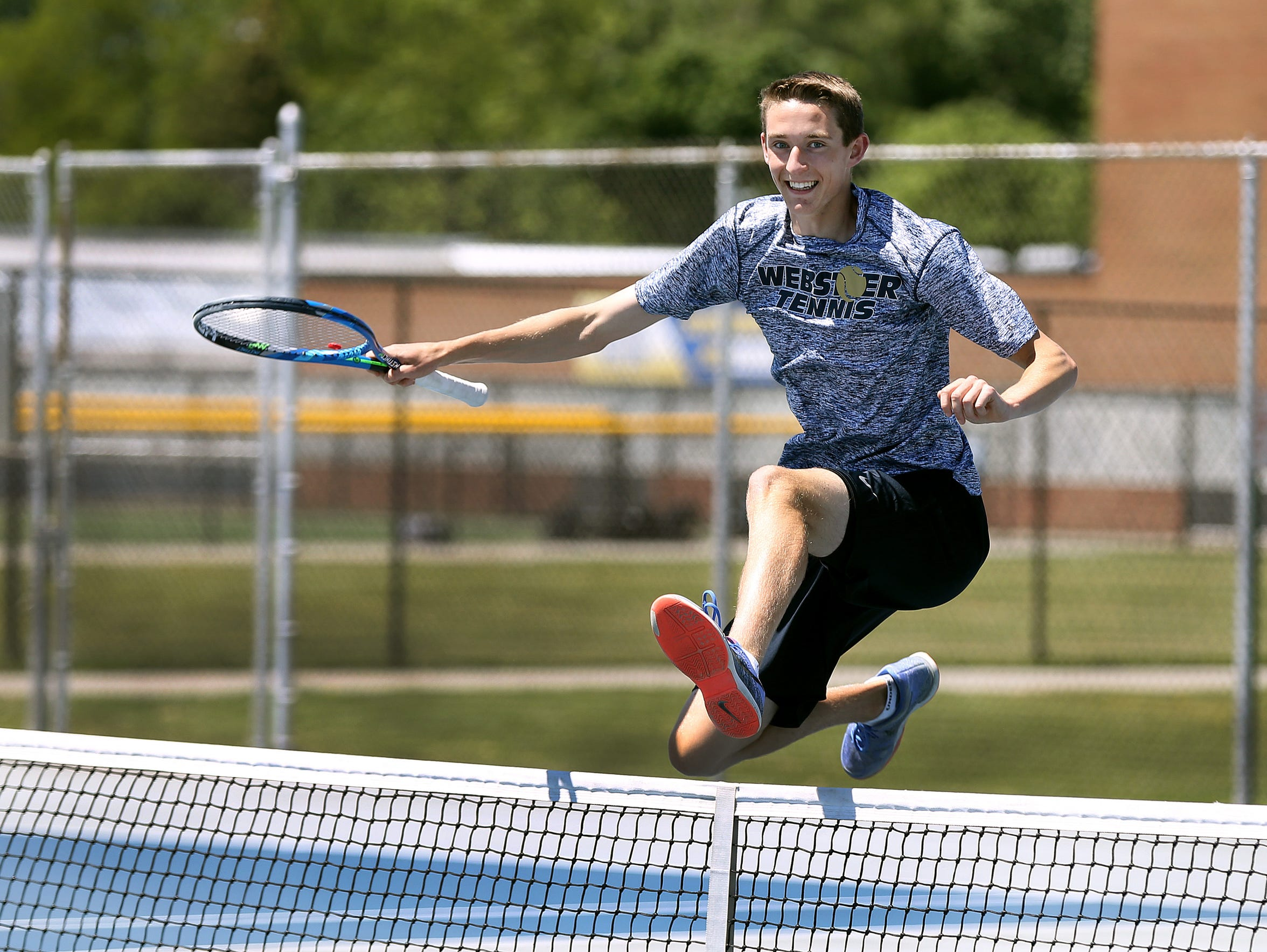 Webster Schroeder's John Speicher is the 2017 All-Greater