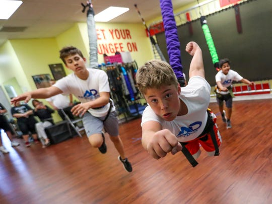 Even kids have a blast with the workouts. Last July, Patty Cummings launched her bungee workout system brand, Astro-Durance. She had 1,500 square feet of strip mall space, two full-time employees and was dealing in Florida. Less than a year later, she has leased 5,000 square feet of space, hired 13 more full-time employees and shopped her product to 33 states plus Australia, Turkey and Costa Rica. She's looking to further her brand, appearing on national podcasts and a fitness reality show in 2019. Cummings just might be onto the next national fitness craze.