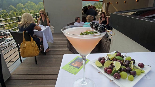 The Winston rooftop bar in Mount Kisco.