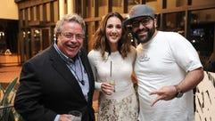 Drew Nieporent, Leah Cohen, Ben Byruch. Piggback Bar