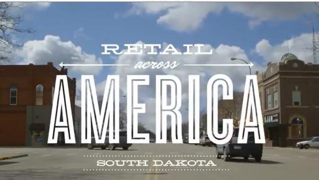 The Retail Across America video featuring South Dakota.