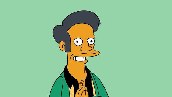 Kwik-E-Mart proprietor Apu is a character on 'The Simpsons.'