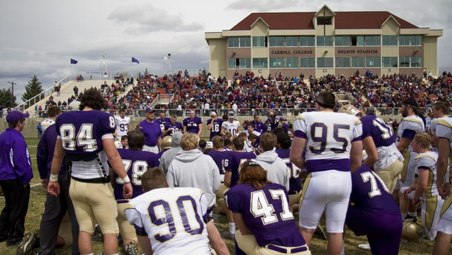 Carroll College head coach Mike Van Diest and the Saints are preparing for the 2018 Frontier Conference season.
