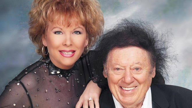 Marty Allen and wife Karon Kate Blackwell