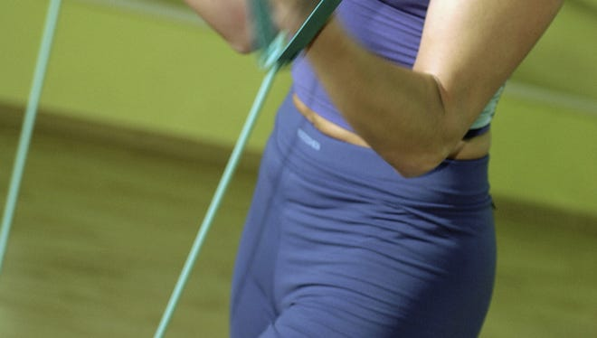 Exercising with resistance bands can provide many benefits.