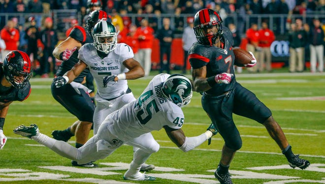 Rutgers halfback Robert Martin led the team in rushing yards last season despite only starting one game.
