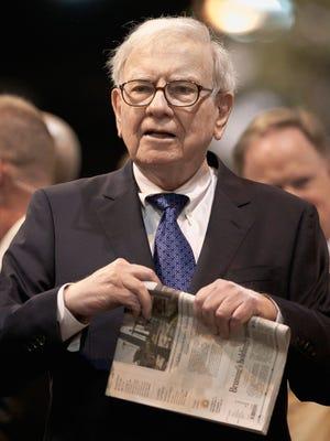 Warren Buffett is chairman and CEO of Berkshire Hathaway.