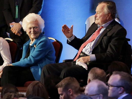 George Bush,Barbara Bush