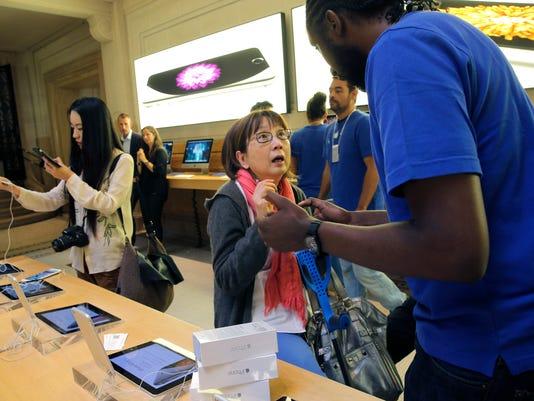 AP France Apple iPhone