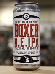 Boxer N.E. IPA, part of the New Orthodox IPA Series