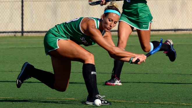 York College's Ali Posey was honored as the school's outstanding senior female athlete. YORK DISPATCH FILE PHOTO