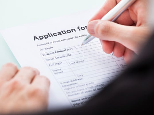 ohio using job forms without box on felony convictions